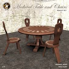 F&M * Medieval Table And Chairs | Theme Item @ I Heart The C ... Amazing Medieval Dning Table With 6 Chairs In Se3 Lewisham Artstation Medieval And Chair Ale Elik Calcot Manor Console Table Sims 4 Peasants Kitchen Counters Set Design Impressive Decoration Wayfair Round Ding Tapestry Banqueting Hall Wooden Floors Unique And Chairs Thebarnnigh Fniture Wikipedia Trestle Style China Cabinet Idenfication Battle Themed Chess Set
