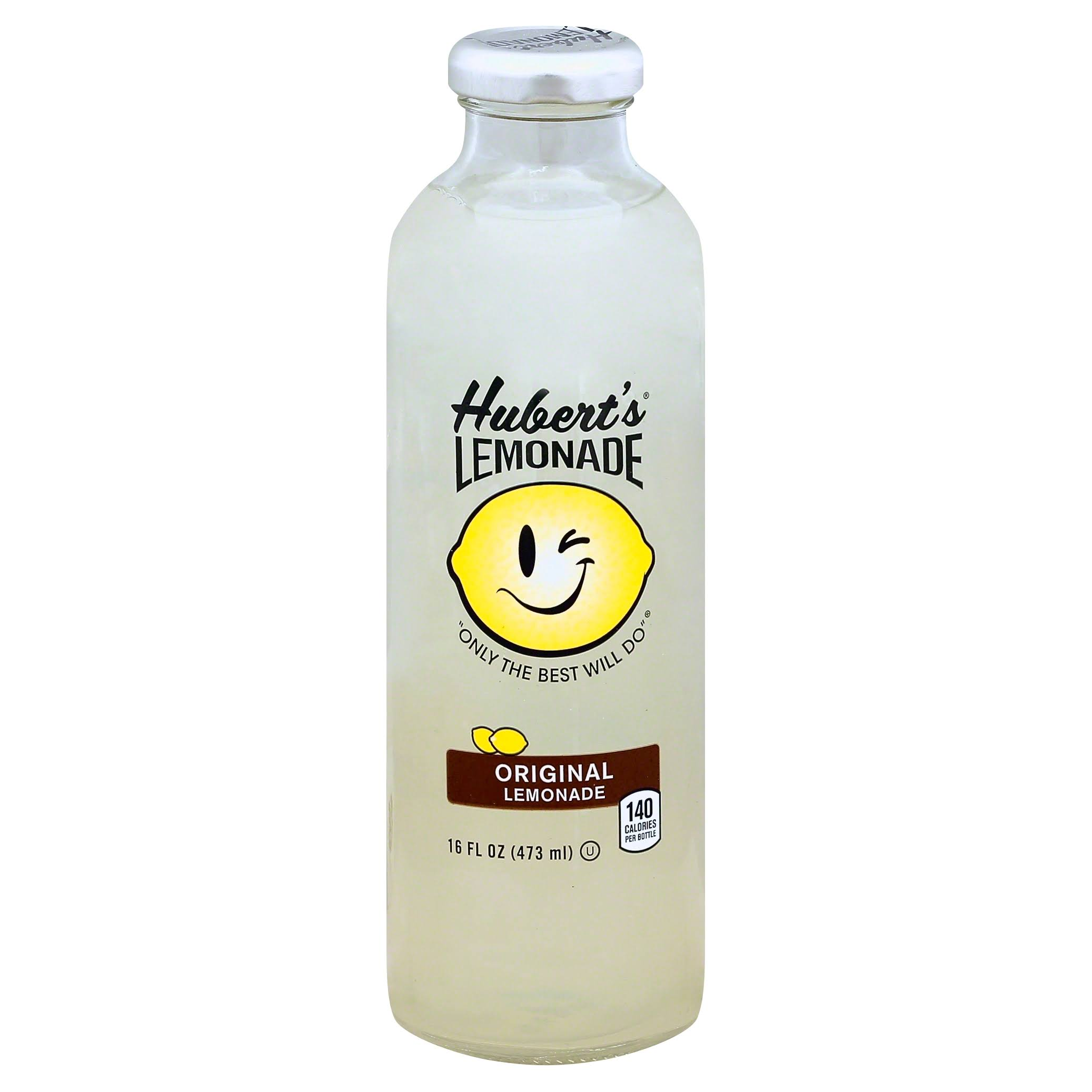 Huberts Lemonade, Original - 16 fl oz