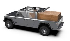 100 Truck Suv Bollinger Motors Announces B2 Electric Pickup Alongside SUV