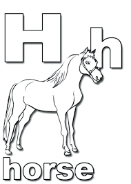 Printable Horse Coloring Pages For Adults Alphabet Bella Sara Free Race Full Size