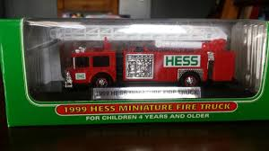1999 Hess Miniature Fire Truck   EBay 1988 Hess Toy Truck And Racer Ebay 2013 26amp Tractor 1994 Gasoline Rescue Lot Of 8 Mini 2000 2001 2002 2003 2004 20062 2007 9 Vintage Hess Trucks New Old Stock 1990s 2000s Lot D 5 1991 Formula One Style Race Car 1995 Helicopter 885111002804 2008 Truck Front Loader 610 Pclick Miniature Mint