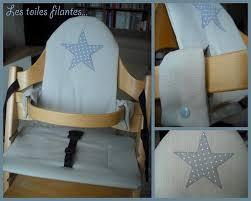 coussin pour chaise haute tripp trapp les toiles filantes