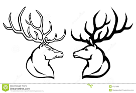 Coloring Extremely Creative Deer Head Pages 14 Clip Art