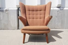 Hans Wegner Papa Bear Chair Leather by Machine Age U2013 New England U0027s Largest Selection Of Mid 20th Century