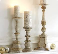 Unfinished Wood Candle Holders | Brittany Knapp Bring Romantic Feeling For Christmas With Mercury Glass Antler Candle Holders Large Hurricane Pottery Barn Au Design Krazy Lighting Francis Dont Disturb This Groove The Look Less Knockoff Hurricanes Moody Girl Projects Candlesticks Decorating With Interior Chandeliers Adele Chandelier Small Pottery Barn Inspired Rope Wrapped Candleholder Diy Stonegable Pivot Mirrors Restoration Hdware Bathroom Vanities Really Simple Pillar Holder