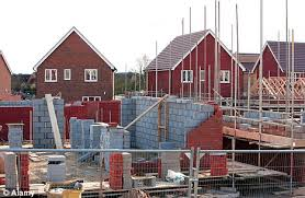 House Building by Small House Builders In Britain Struggling To Keep Up With Large