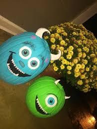 Monsters Inc Mike Wazowski Pumpkin Carving by Mike Wazowski Painted Pumpkin Mine Came Out Super Cute