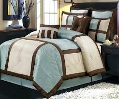 Blue And Brown Bedding Set Brown And Blue Bedding Sets Home