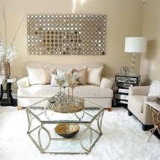 weiß und gold wohnkultur dekoration ideen wohnzimmer