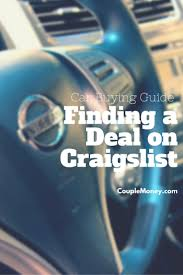 Buying A Car On Craigslist