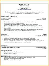 General Dentistry Resume Dentist Resumes Templates Skills Based Cover Letter