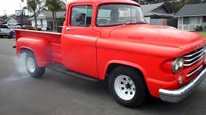 1958 Dodge D100 Burnout - YouTube 1959 Dodge Sweptside Pickup Stock 815589 For Sale Near Columbus Buy Used D100 Sweptline Rat Rod Shortbed Hemi Mopar Lil Trucks Advertising Art By Charles Wysocki 1960 Blog To Keep Up With The Chevy Cameo Carri Flickr Power Giant D200 Panel Van Antique And Classic Mopars Pinterest Fargo Dodge Trucks Vans 1958 Wagon For Sale Youtube T207 Kissimmee 2011 Autolirate Pickup Truck 16 X 24 Websitejpg