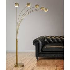 Overarching Floor Lamp Brass by Brass Floor Lamps You U0027ll Love