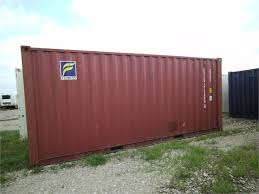 2001 CONEX 20 STEEL SHIPPING CONTAINERS At