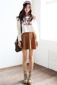 Fash F8c8d6bc5436beb30c9862374984be78 H 3 Trend Gaya Casual Fashion Ala Wanita Korea Terbaru 2015 2016