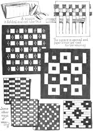 Basic Paper Weaving Instructions