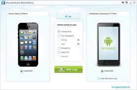 How to Transfer Contacts between iPhone and Samsung phone to phone