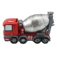 Cement Truck Money Coin Bank - 7.5
