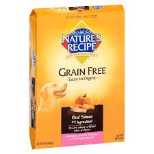Pumpkin Causes Dog Diarrhea by Nature U0027s Recipe Grain Free Salmon Sweet Potato U0026 Pumpkin Dry Dog