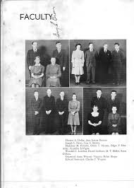 100 Edward Szewczyk Boswell High School 1940 Page 6 Faculty Group Photos