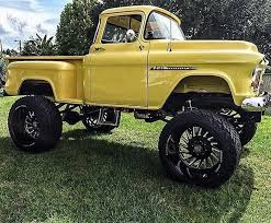 1950s Chevrolet Custom Stepside 4x4