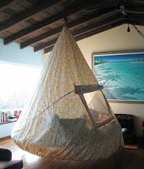 swing bed made from recycled troline