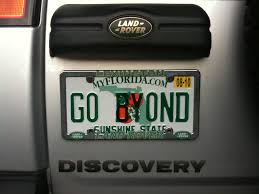 New License Plate For My Truck... - Land Rover Forums - Land Rover ...