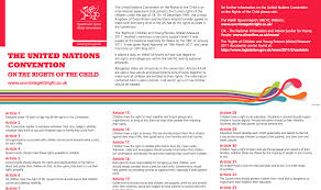 Children s Right Wales Leaflets & Posters