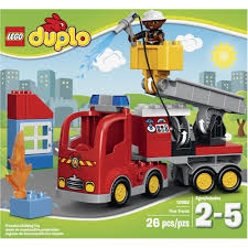 Fingerhut - LEGO DUPLO Fire Truck 26-Pc. Set - 10592 Lego Duplo 5682 Fire Truck From Conradcom Amazoncom Duplo Ville 4977 Toys Games City Town Fireman 2007 Sounds Lights Lego Station Funtoys 10592 Ugniagesi 6168 Bricks Figurines On Carousell Finnegans Gifts Baby Pinterest Trucks Year 2015 Series Set Fire Truck With Moving 10593 5000 Hamleys For And 4664
