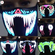 The Purge Halloween Mask Ebay by Led Mask Page 3 Masks Ideas U0026 Reviews