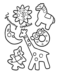 Sugar Cookie Coloring Pages High Quality Coloring Pages