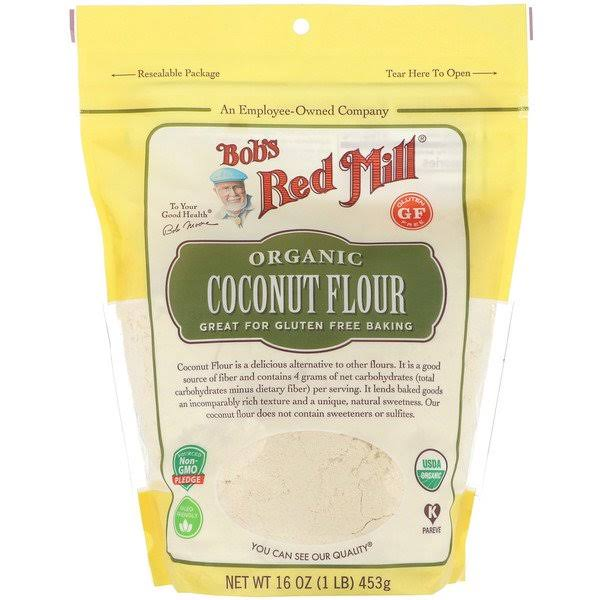 Bobs Red Mill Coconut Flour, Organic - 16 oz