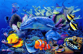 100 Christian Lassen Dolphins Dolphin Ocea Sea Underwater Riese