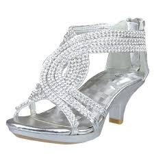u0027s rhinestone open toe criss cross straps high heel dress