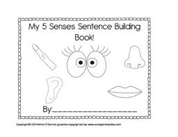 Coloring Pages 5 Senses Free Printable
