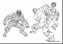 Spectacular Hulk Coloring Pages Printable With Incredible And Online