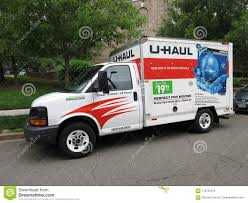 100 Truck Moving Rentals Common U Haul Editorial Stock Image Image Of
