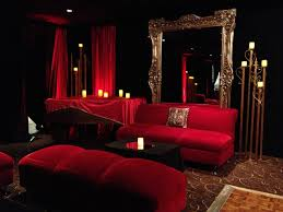 Black And Red Living Room Ideas by Red And Black Lounge Red And Black Living Room Design Ideas Red