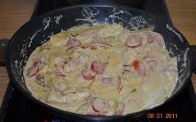 comment cuisiner blanc de poulet recette blanc de poulet à la crème de moutarde 750g