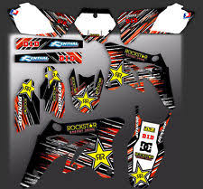 kit deco 125 sx 2004 ktm exc graphics decals emblems ebay
