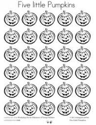 Printable Pumpkin Books For Preschoolers by Five Little Pumpkins Song And Coloring Page1 Jpg 373 276 Pixels