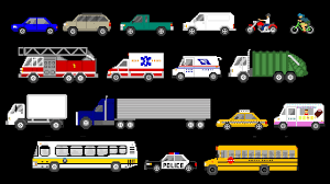 Street Vehicles - Cars And Trucks - The Kids' Picture Show (Fun ...