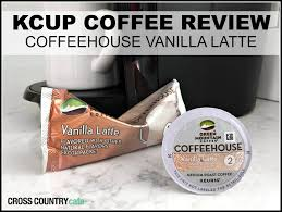 Pumpkin Spice Latte Keurig by Review Of Coffeehouse Vanilla Latte K Cup Pods