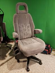 Cheap Minivan Captains Chair + Old Office Chair Base + A ... Best Ergonomic Office Chairs 2019 Techradar Ergonomic 30 Office Chairs Improb Dvo Spa Design Fniture For The 5 Years Warranty Ergohuman Enjoy Classic Ejbshbmf Smart Chair Comfortable Gaming Free Installation Swivel Chair 360 Degree Racing Gaming With Footrest Gaoag High Back Lumbar Support Adjustable Luxury Mesh Armrest Headrest Orange Grey Lower Pain In India The 14 Of Gear Patrol 8 Recling Footrest Bonus