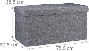 braun faltbar mit stauraum wohn schlafzimmer klappbarer