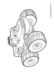 Monster Truck – Coloring Page For Kids | Coloring Pages Collection ...