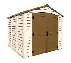 Lifetime 10x8 Plastic Shed by Amazon Com Duramax 30114 Store All Vinyl Shed With Foundation 8