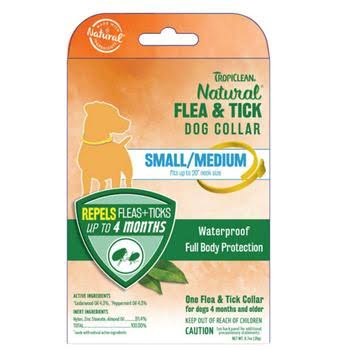 Tropiclean Flea & Tick Dog Collar Small/Medium