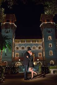 Nights of Lights St Augustine Engagement Proposal s