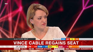 BBCs Laura Kuenssberg Accidentally Says C Live On Air During Election Coverage
